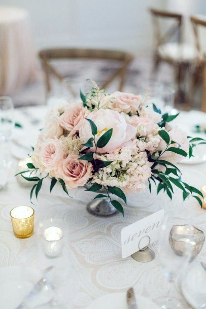 Table Decor May Wedding Flowers