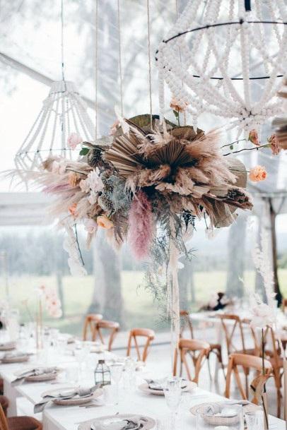 Table Decorations Boho Wedding Flowers