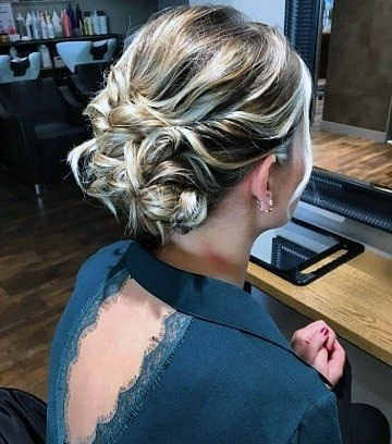 Tangled Chignon Women Hairstyle