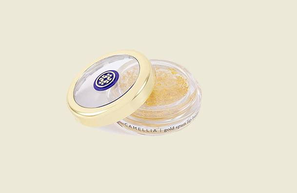 Tatcha Camellia Goldspun Lip Balm For Women
