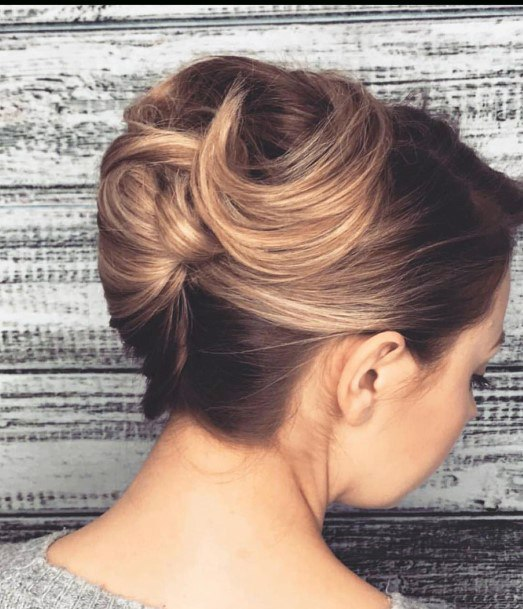 Teenage Inspiration Highlighted Classy And Traditional French Twist