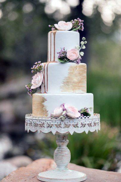 Tempting Elegant Wedding Cakes Women