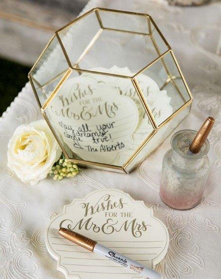 Terrarium Wedding Guest Book Ideas
