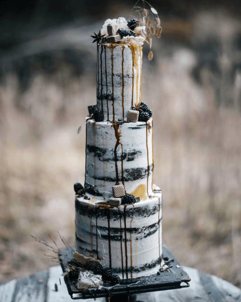 Terrifying Halloween Wedding Cakes