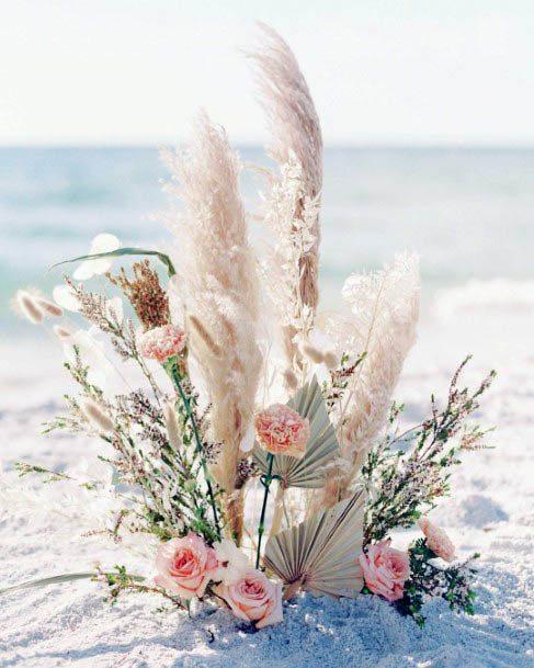 Tidal Beach Wedding Flowers