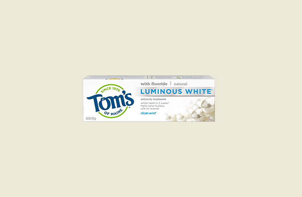 Toms Of Maine Luminous Whitening Toothpaste For Women