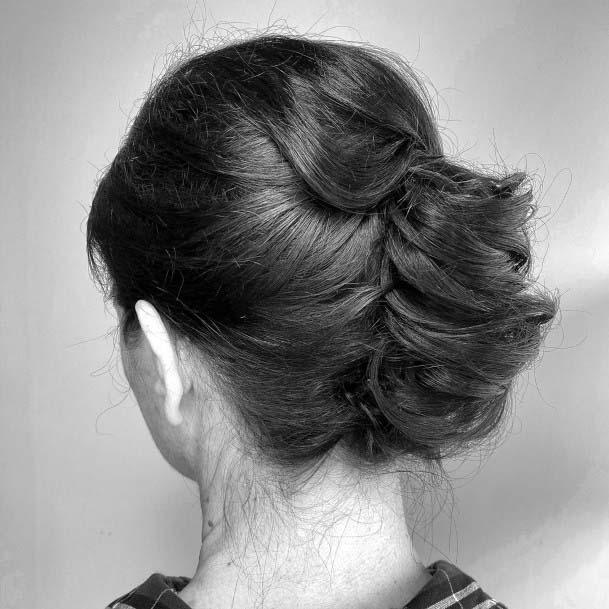 Traditional Messy French Twist For Women And Girls