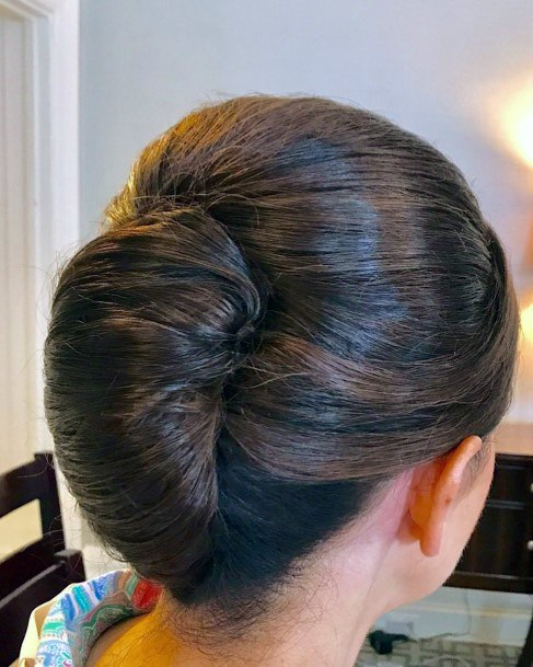 Traditional Tight Caterpillar French Twist For Women And Teenage Girls
