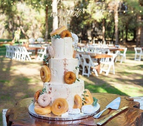 Treatful Wedding Cake Donut