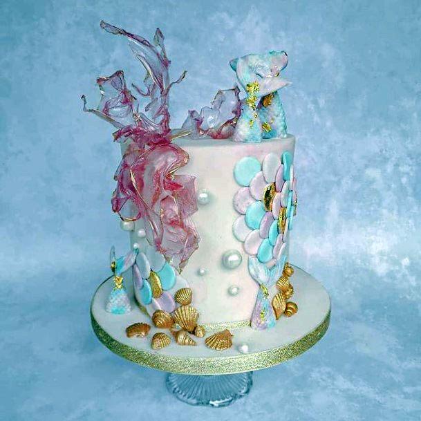 Underwater Unique Wedding Cake