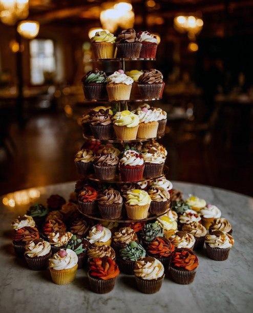 Unique Cupcake Wedding