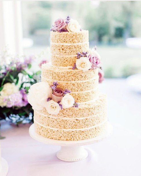 Unique Nut Cake Wedding