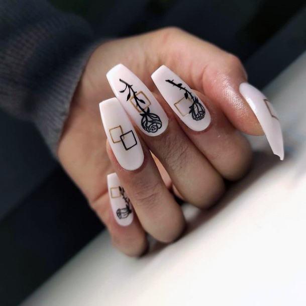Unique Romantic Nails Women