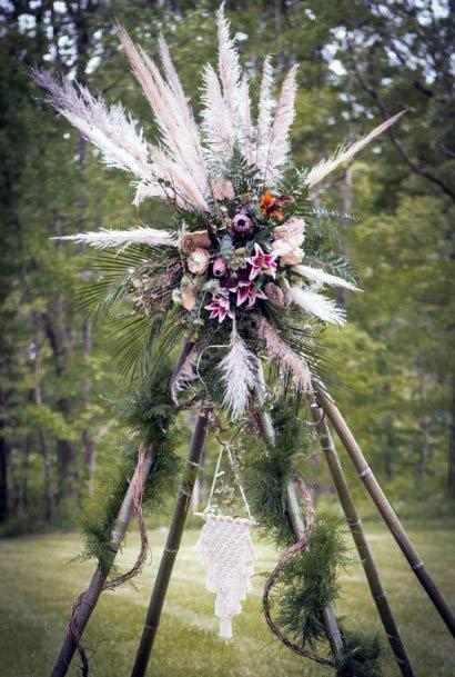 Unique Rustic Wedding Flowers