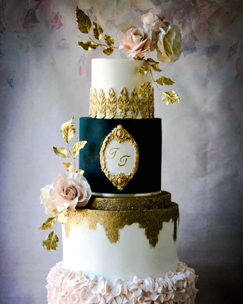 Unique Tiers Different Designs Wedding Cake Ideas