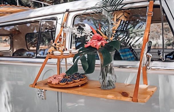 Vehicle Hawaiian Wedding Flowers