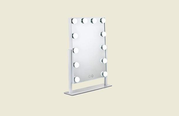Waneway Lighted Vanity Mirror Makeup Mirror For Women