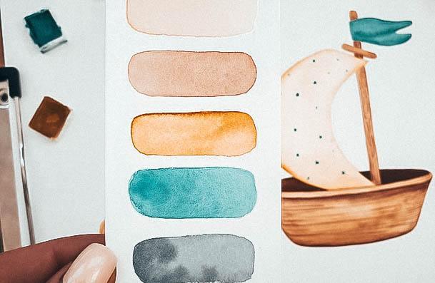 Watercoloring Art Hobbies For Women