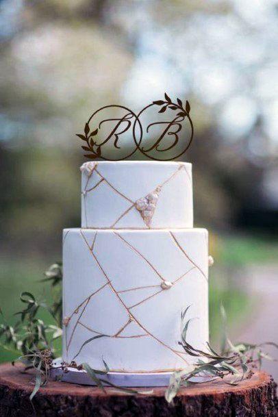Wedding Cake Ideas Marbled Fondant Inspiration