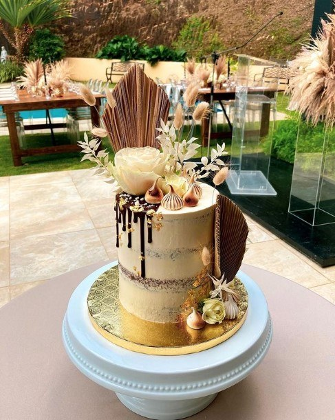Wedding Designer Chocolate Cake
