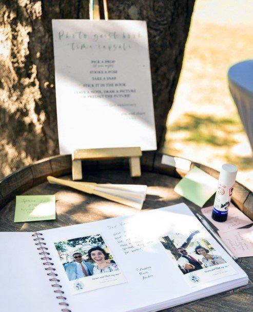 Wedding Guest Book Ideas Fun Polaroid Photographs