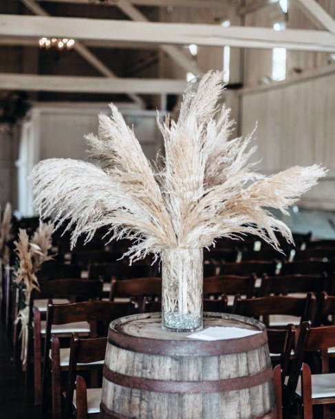 White Boho Wedding Flowers