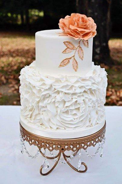 White Crystal Art Womens Wedding Cake Stand