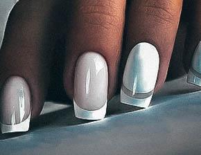 White Gel Nail Ideas For Girls