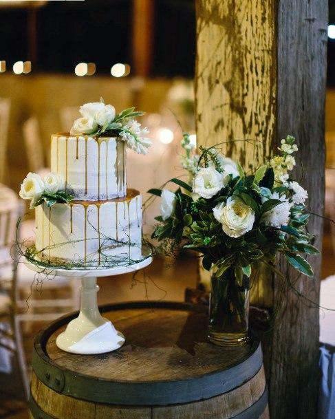 White May Flowers Wedding