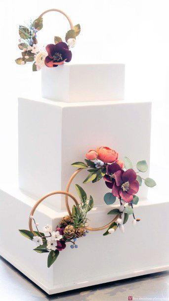 White Wedding 3 Tiered Cake Blocks