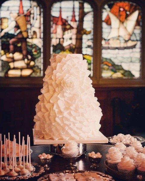 White Wedding Cake Hill