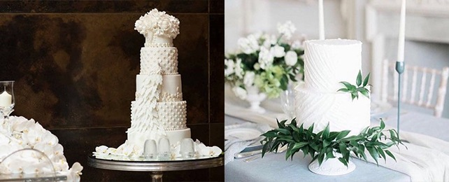 Top 70 Best White Wedding Cake Designs – Traditional Chic Icing Ideas