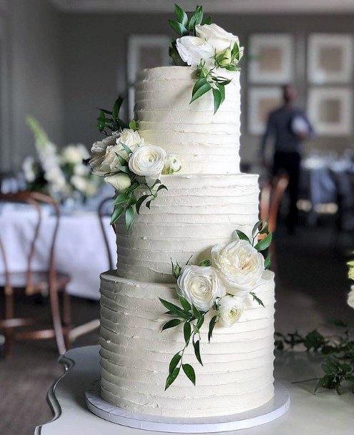 Womens 3 Tier Wedding Cake Alluring