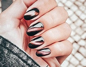 Womens Cat Eye Nail Ideas