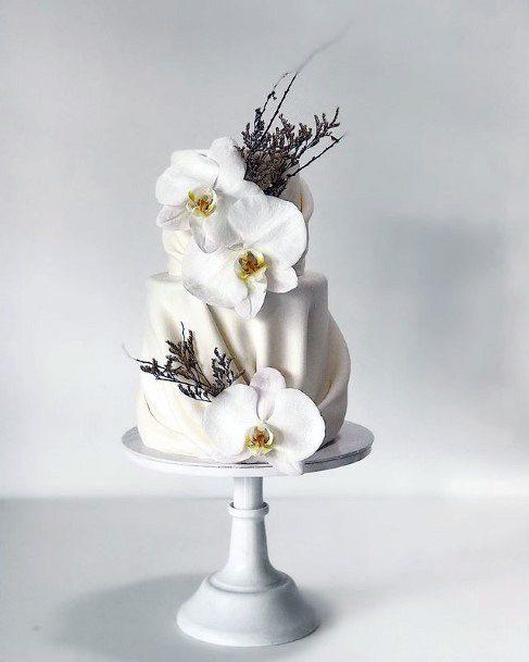 Womens Dainty Elegant Wedding Cake Decor