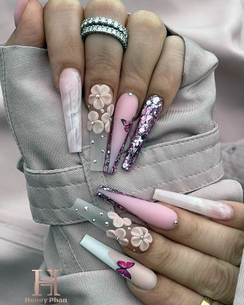 Womens Fantastic April Nails