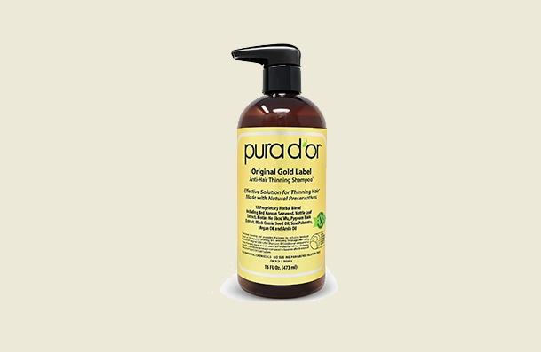 Women's Shampoo Pura D'or Original Gold Label Anti Thinning