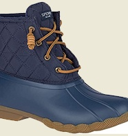 Womens Sperry Saltwater Rain Boots