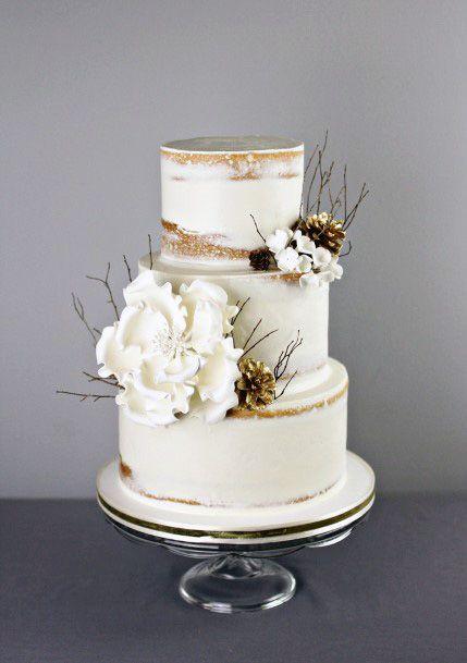 Womens Suave Elegant Wedding Cakes
