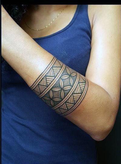 Womens Tribal Tattoo Wrist Band