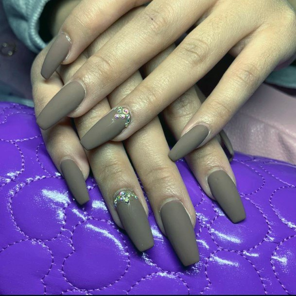 Wonderful Brown Nails For Women