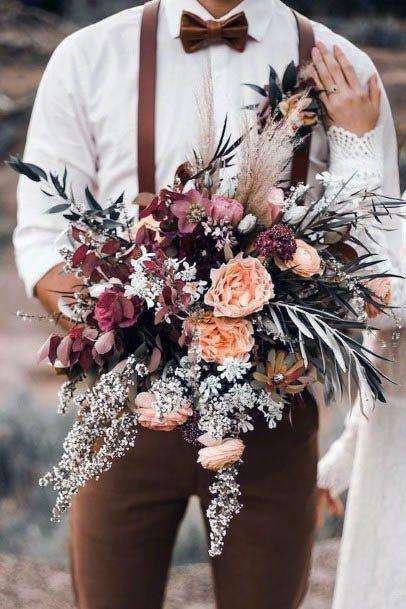 Wonderful Rustic Wedding Flowers