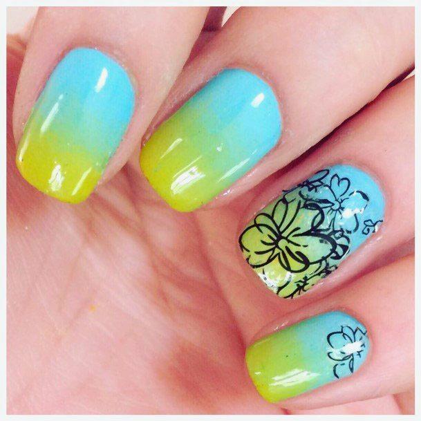 Wonderful Tropical Nails Women