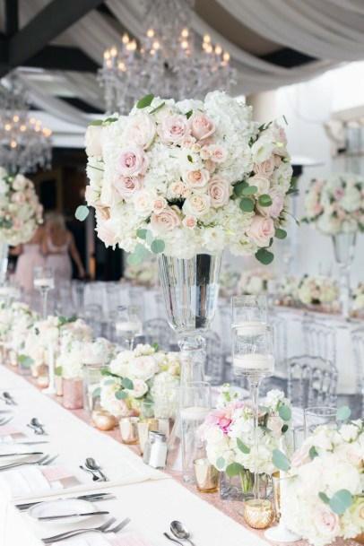 Wonderful Wedding Blush Flowers