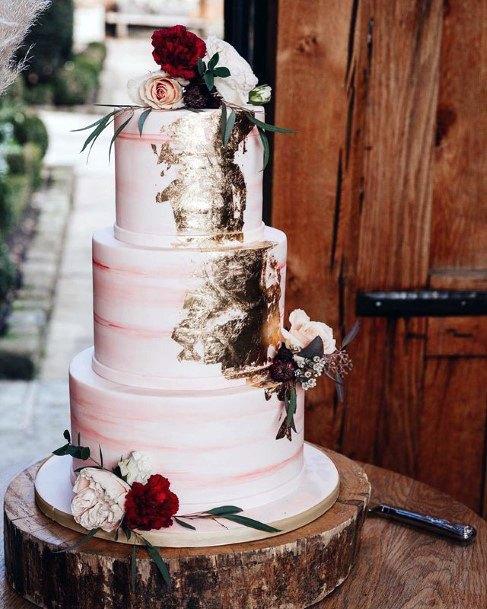 Wooden Log Wedding Cake Stand Women