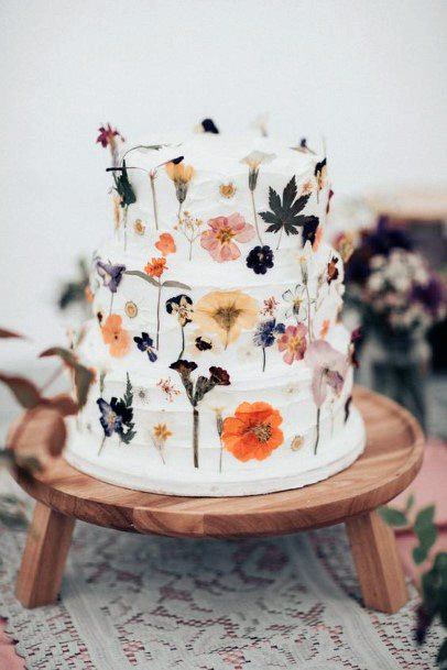 Wooden Stool Womens Wedding Cake Stand