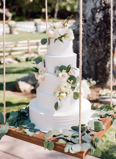 Wooden Swing Cake Stand Womens Wedding