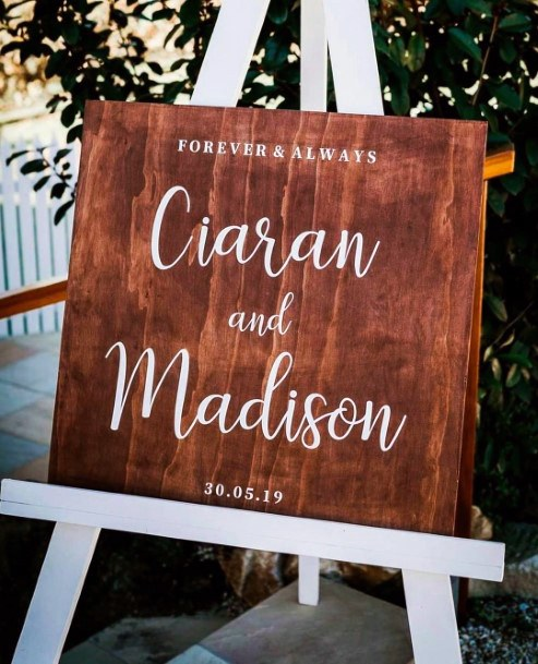 Wooden Welcome Sign Inspiration Rustic Wedding Ideas