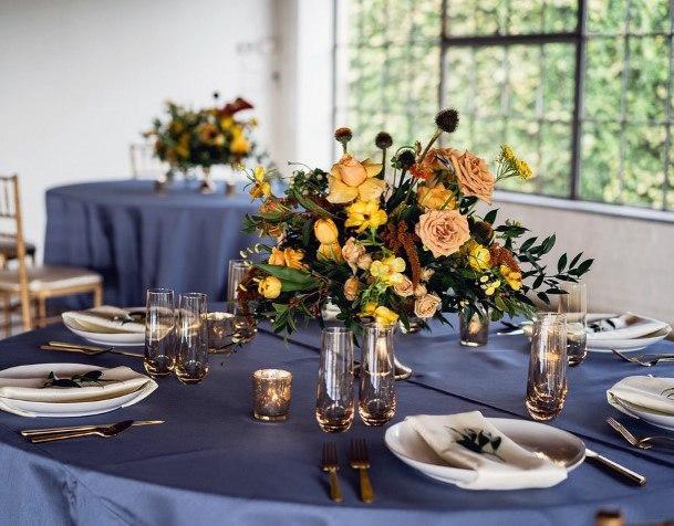 Yellow Flower Bunch Wedding