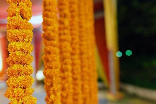 Yellow Marigolds Indian Wedding Flowers